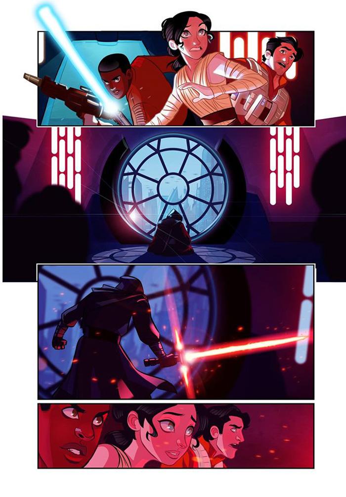Star Wars Episode 75 Comic