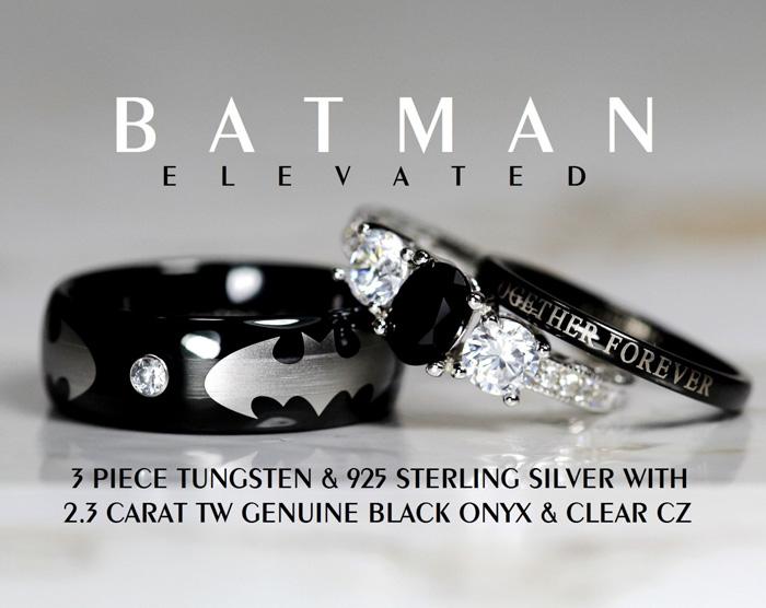 Batman Rings