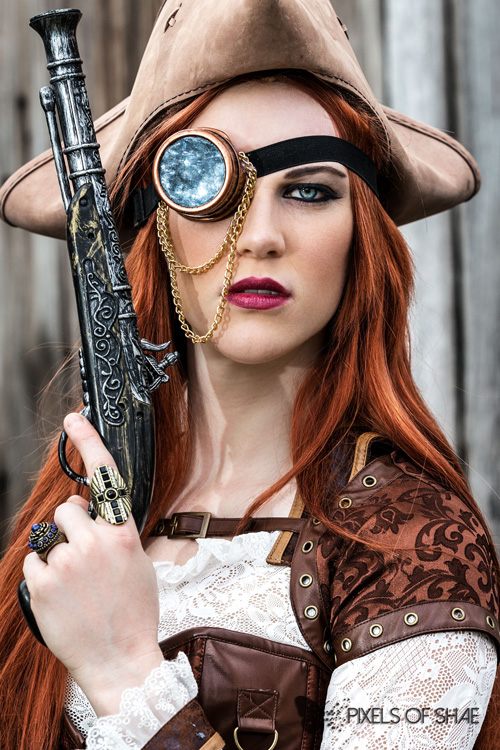Steampunk Pirate Cosplay