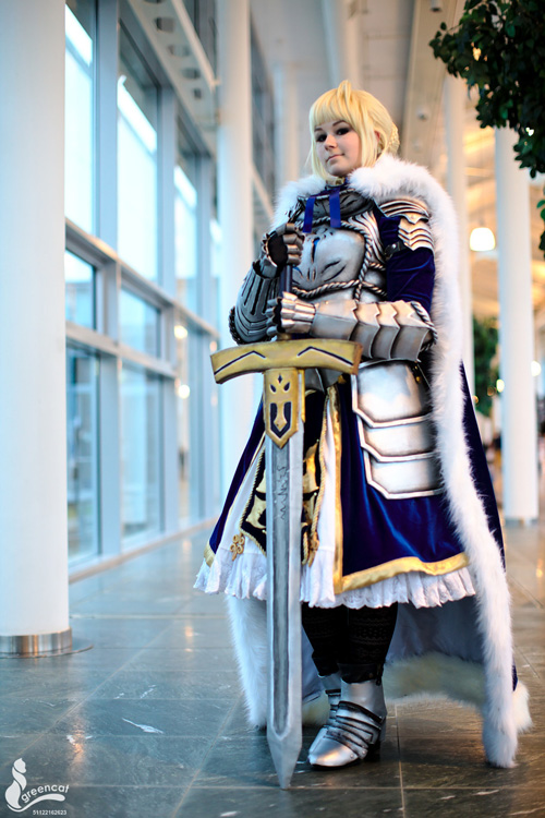 Saber From Fatestay Night Cosplay