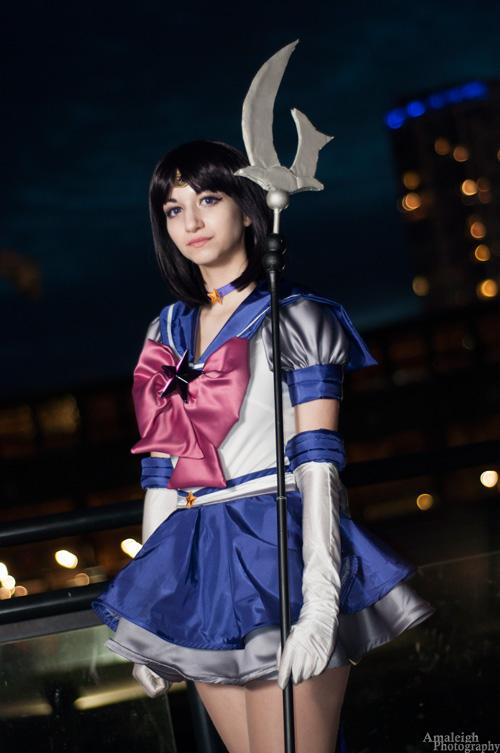 Sailor Saturn Amp Sailor Pluto Cosplay