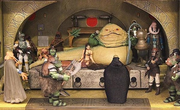 Star Wars Scenes Recreated In Toy Dioramas