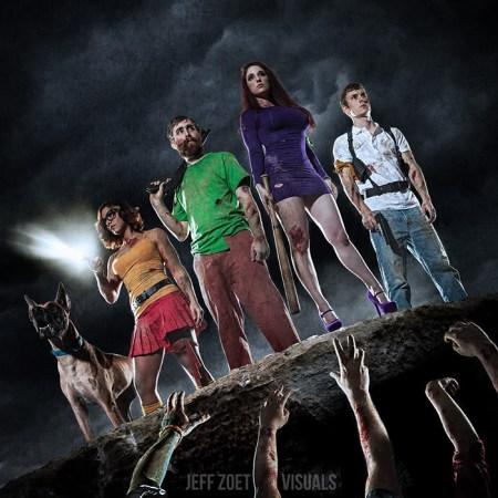Zombie Apocolypse Scooby Doo Shoot