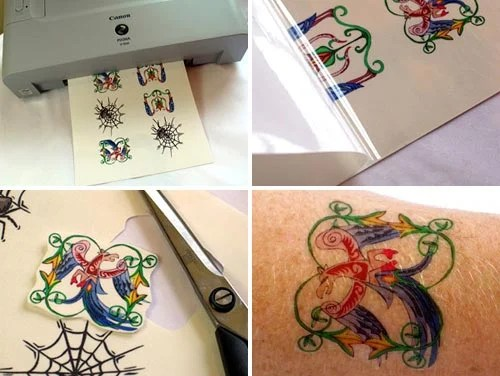 Tattoo yourself – or the kids – with no pain and the added bonus of being