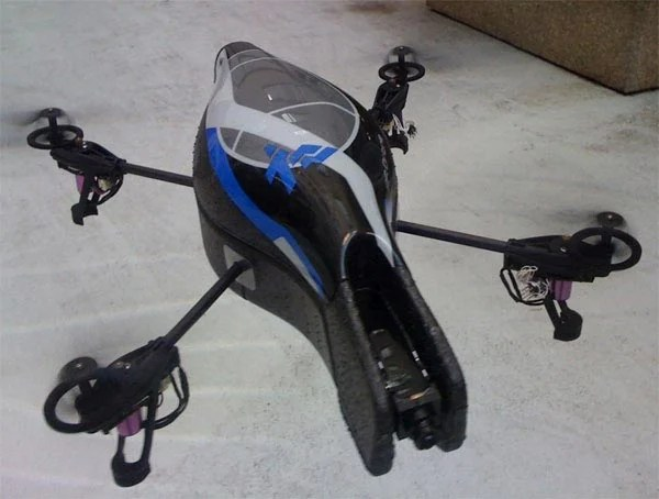 Parrot AR.Drone iPhone Controlled Quadricopter
