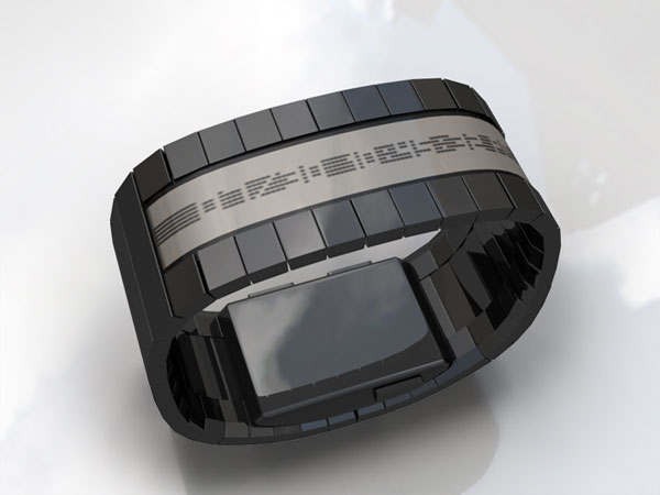 Tokyoflash E-Paper Timing Watch Concept