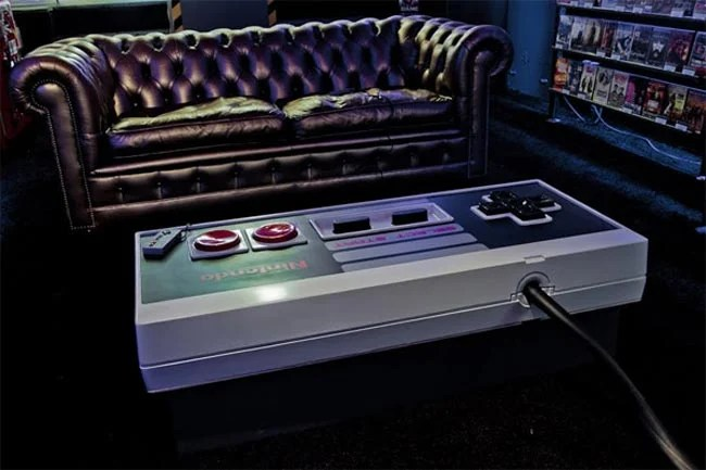 Amazing NES Controller Coffee Table Video