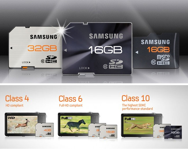 Samsung rugged SD Cards