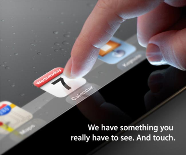 iPad 3 Launch Invite