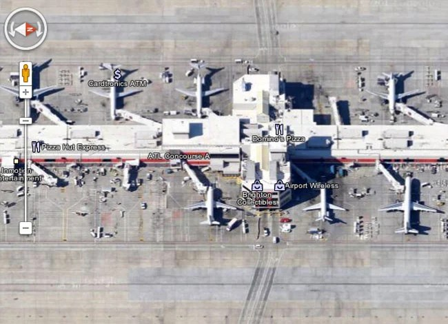 Google Maps 45 Degree Imagery