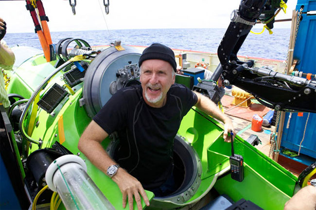 James Cameron Deep Sea Challenge Expedition