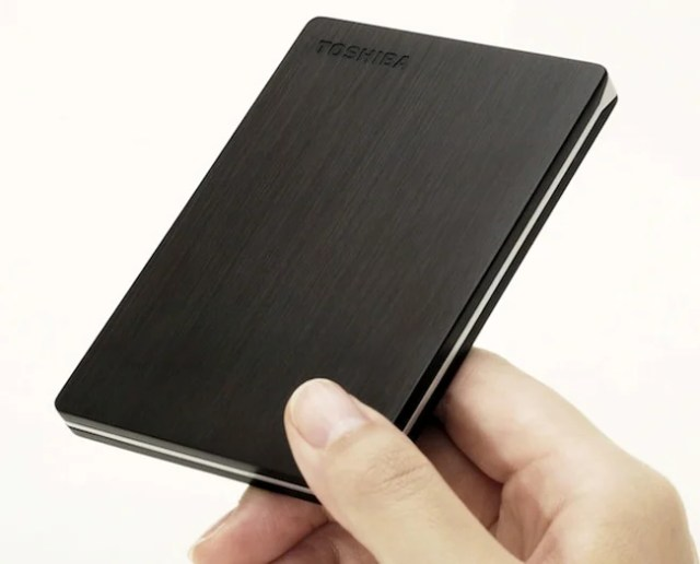 portable hard drives are small that they can fit for PS4