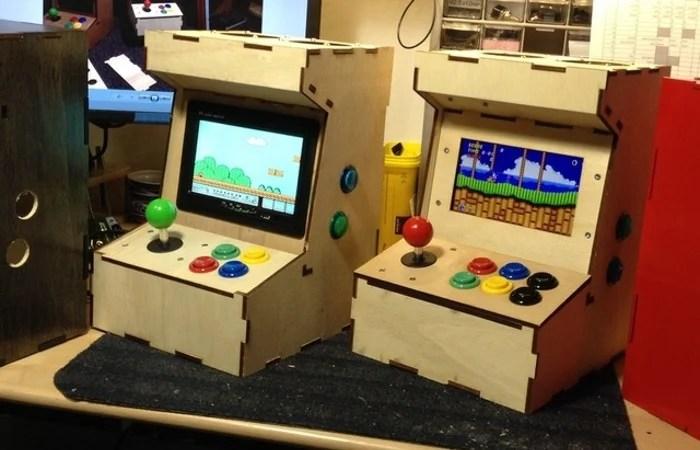 Raspberry Pi Arcade Cabinet Kit