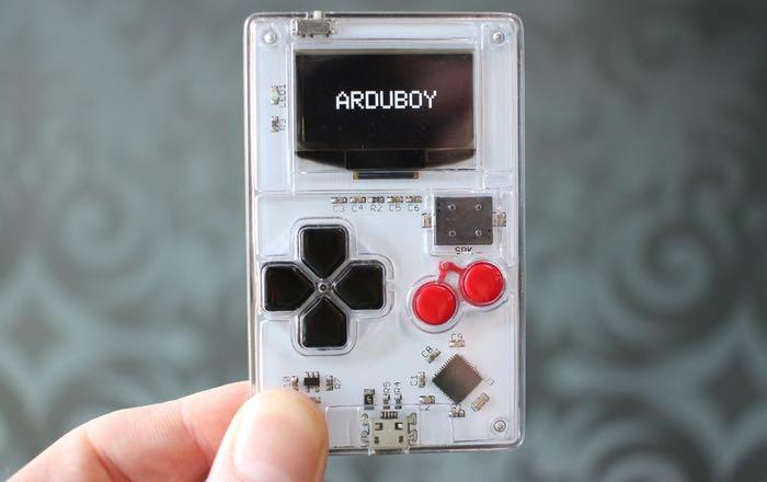 Arduboy Arduino Gameboy Hits Kickstarter