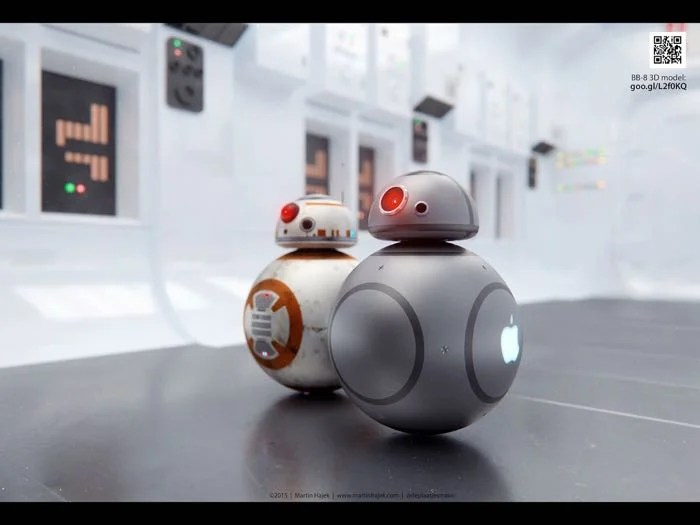 If Apple Made Robots They Would Probably Look Like This