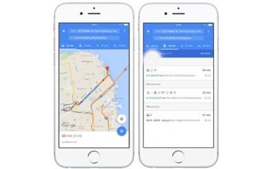 Google Maps iOS App
