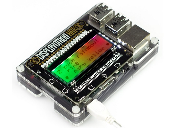 Raspberry Pi Display-O-Tron HAT