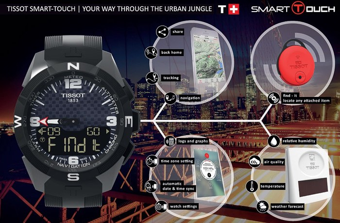 Tissot Smart-Touch Smartwatch
