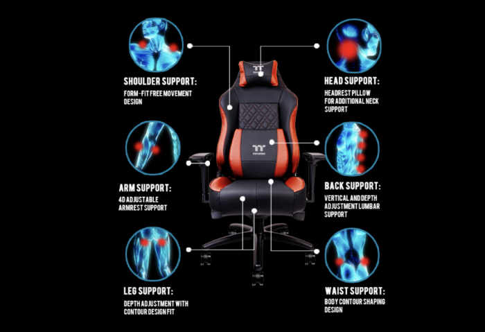 Thermaltake X Comfort Air Gaming Chair