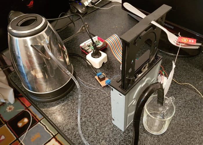 DIY Raspberry Pi Intelligent Tea Maker