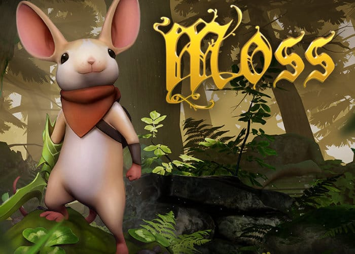 PlayStation VR Moss Gameplay