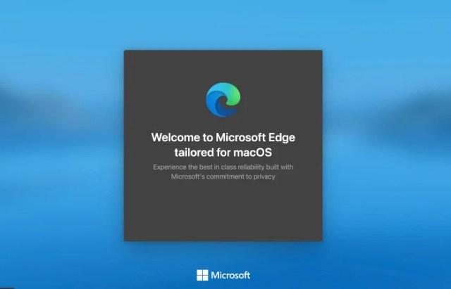 Install Microsoft Edge Internet Browser on Mac confirmation