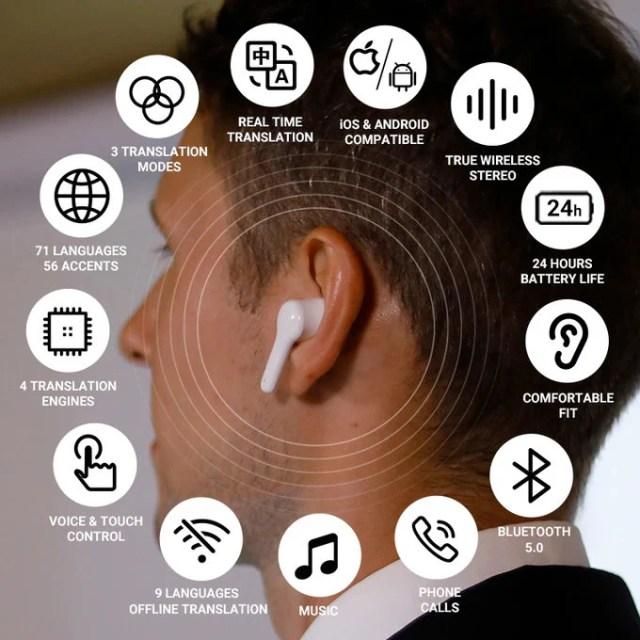 Wooask wireless earbuds