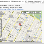 Gmail Adds Google Maps Preview