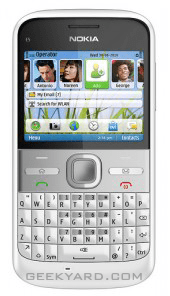 Nokia E5 QWERTY Phone: Price and Features