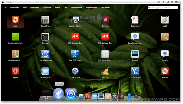 Download Pear OS 3.0 Panther- Mac-Looking Ubuntu 11.10