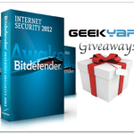 Geekyard Giveaways: 3 Bitdefender Internet Security 2012 License Key Worth $150