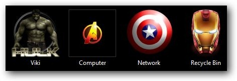 The Avengers Theme Icons