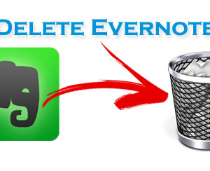How to Uninstall or Remove Evernote App from Mac OS X