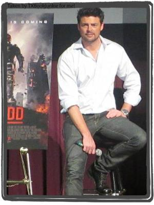 Karl Urban taken by TXBookJunkie