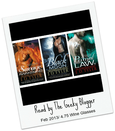 Series Review: Savage Awakening (Alpha Pack #2) by J.D. Tyler #seriouslyseries #tbrtipping