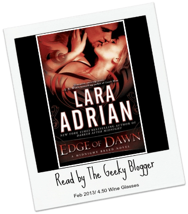 Review: Edge of Dawn by Lara Adrian