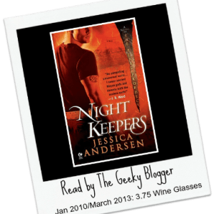 ReRead Review: Nightkeepers (Nightkeepers #1) by Jessica Andersen #SeriouslySeries #TakingControl