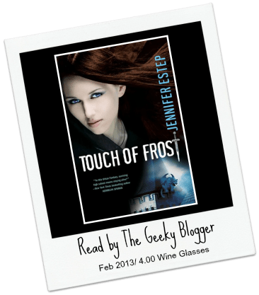 Audiobook Review: Touch of Frost by Jennifer Estep