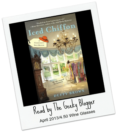 Review: Iced Chiffon by Duffy Brown