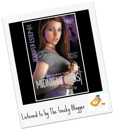 Audiobook Review: Midnight Frost by Jennifer Estep/Narrated By Tara Sands