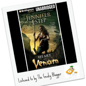 Audiobook Review: Heart of Venom by Jennifer Estep