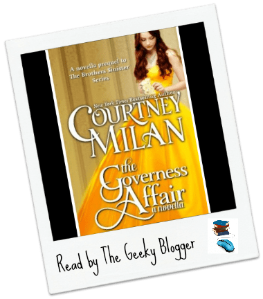 Audiobook Review: The Governess Affair by Courtney Milan