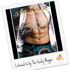 Audiobook Review: The Many Sins of Lord Cameron by Jennifer Ashley
