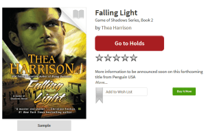PL Falling Light by Thea Harrison