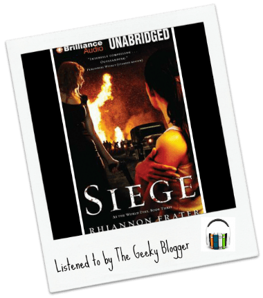 Audiobook Review: Siege by Rhiannon Frater