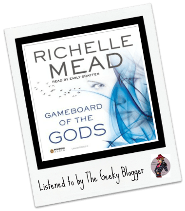 Audiobook Review: Gameboard of the Gods by Richelle Mead