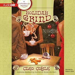 Audiobook Review: Holiday Grind by Cleo Coyle