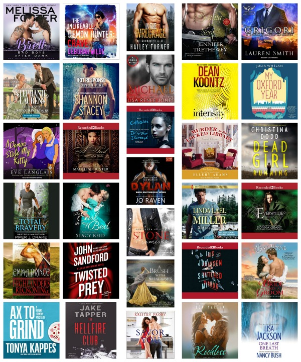 In My Ear: Audiobook Releases April 24 2018