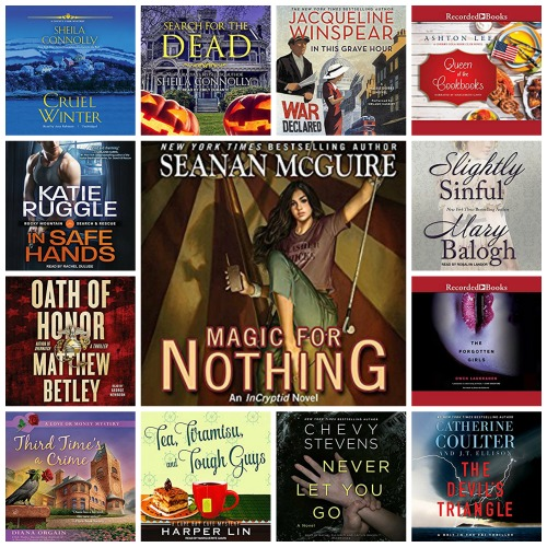 In My Ear: Audiobook Releases March 14 2016