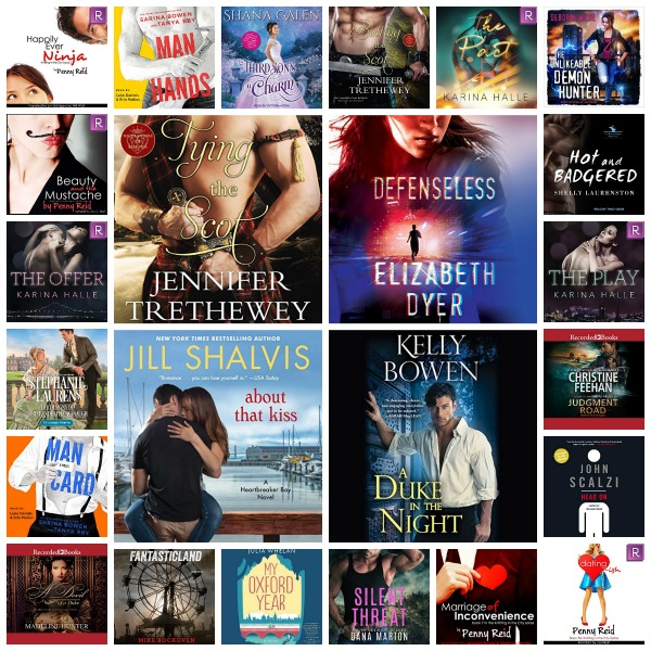 In My Ear: What's On My Audible Shelf (twist on the normal) May 1 2018